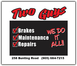 Two Guys Service Garage - We do it all.