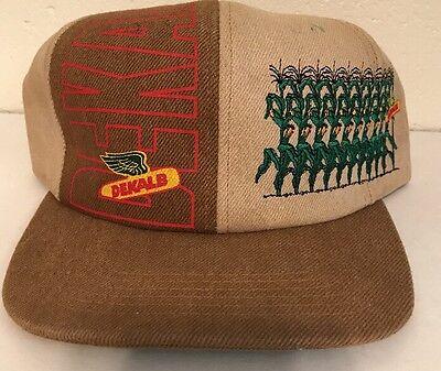 Rare Vintage Dekalb Seed Corn Hat with Corn Field