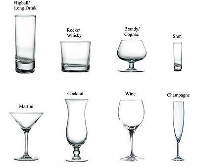 a guide to bar glass types ebay. Black Bedroom Furniture Sets. Home Design Ideas