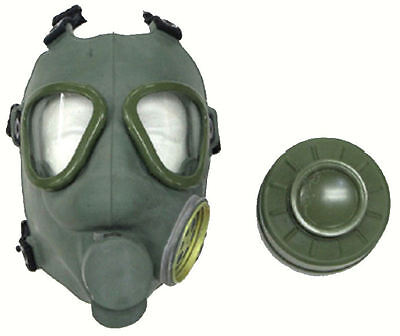 Yugoslavian Army Gas Mask - OD GREEN - European Military Surplus for Collectors