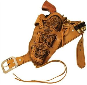 CHEYENNE-HOLSTER-LEATHER-KIT-for-revolvers-with-4-5-8-to-6-1-2-inch-barrells