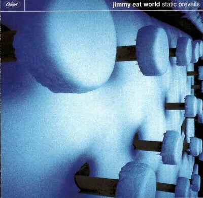 JIMMY EAT WORLD - STATIC PREVAILS - ENHANCED CD ALBUM - FREE UK POSTAGE