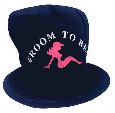 Groom to Be Hat Bachelor Party Stove Pipe Top - Groom Hat