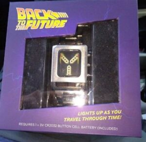 Back to the Future Flux Capacitor Wristwatch BRAND NEW & SEALED