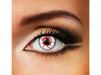 Scary halloween coloured contact lenses 90 day use
