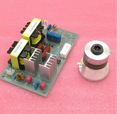 50w 40khz Ultrasonic Cleaning Transducer Cleaner Power Driver Board 220v Ac