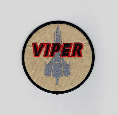 Battlestar Galactica Viper Pilots Screen Accurate Embroidered Patch, NEW UNUSED