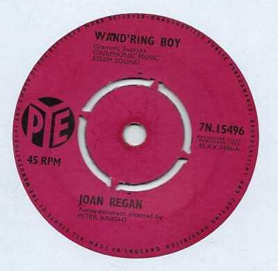 "Joan Regan - Wand'ring Boy - 7"" Record Single"