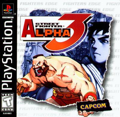Capcom Street Fighter Alpha Ps Playstation