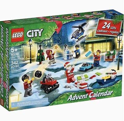 LEGO City Advent Calendar 60268 Building Set ~ New & Sealed