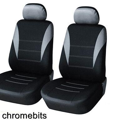 Mercedes A B C Klasse Schwarz und Grau Sitzbezüge