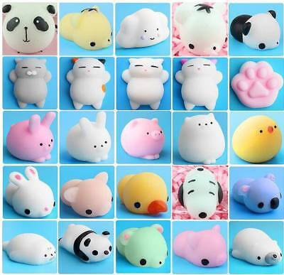 Cute Anti-Stress Squishy Healing Kawaii Mochi Reliever Kid Squeeze Decor Toy - Squeeze Toys