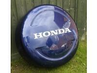 Honda Crv spare wheel cover blue