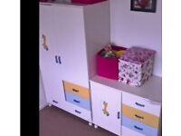 Only Chest of drawers £40 kids room nursery white big good condition