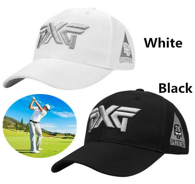 PXG Golf Sun Hat adjustable size White Black New
