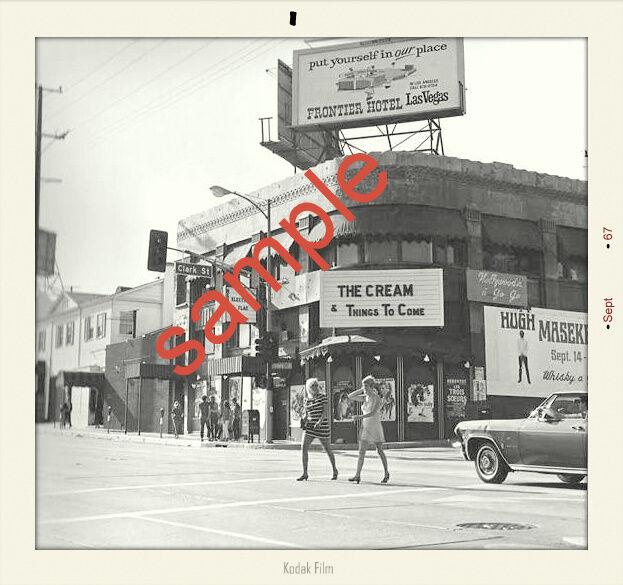 ERIC CLAPTON CREAM 1967 sept Snapshot whiskey front 5x5+ Gift 4 x 6 quality