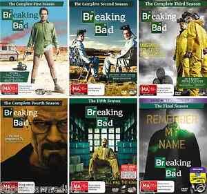 Breaking BAD Complete Series Season 1 2 3 4 5 6 NEW DVD   eBay