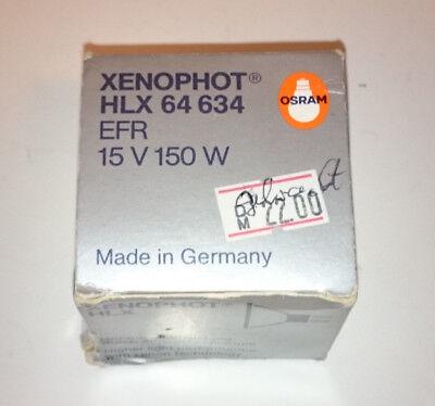 Osram Projektoren Lampe Xenophot HLX 64634 EFR  15V 150W
