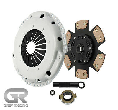 GRIP RACING STAGE 3 CLUTCH SET FOR 2006-2015 HONDA CIVIC 1.8L R18A1 R18A4 SOHC ()