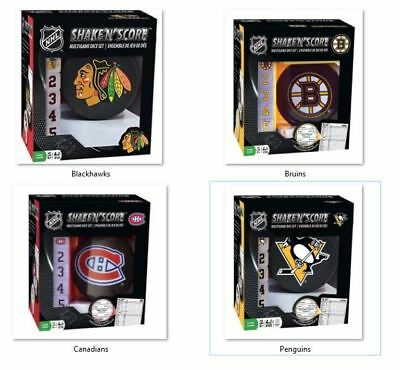Nhl Team Logo On Shake N Score Game By Masterpieces Puzzles  Select  Team Below