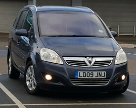 *LOW MILEAGE* 2009 Vauxhall Zafira 1.9 CDTI Breeze PLUS, 7 Seater Not Ford Galaxy, vw sharan touran