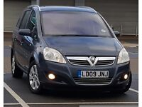 *LOW MILEAGE* 2009 Vauxhall Zafira 1.9 CDTI Breeze PLUS, 7 Seater