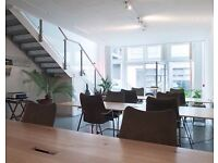 Available now: hot desks in open-plan co-working space