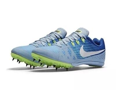 premium selection 6f62a 4f5d4 Nike Zoom Rival M 8 Women s Track Racing Shoes 806559 401 Blue Size 12 NO  SPIKES