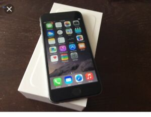 Brand new iPhone 6 black and silver