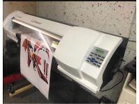 Roland sp300v solvent printer no Mimaki Epson or mutoh