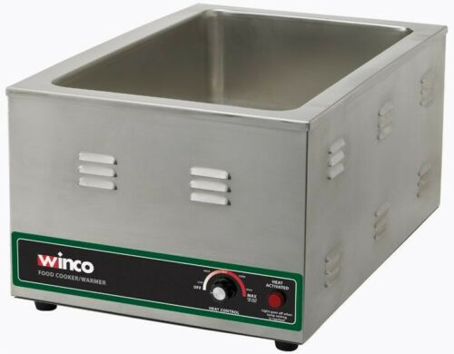 Winco FW-S600 Electric Food Cooker/Warmer, 1500W