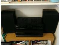 Stereo separates - Sony amp, Mission speakers, Technics CD player