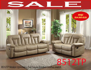 contemporary living room reclining sofas, love seats, 8512TP-2,
