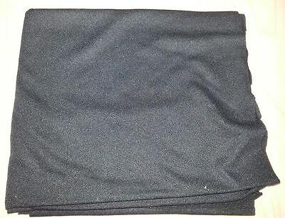 (7,10€/m²) Akustikstoff Lautsprecher Bespannstoff 150x75cm schwarz 2427