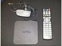 MXQ Android TV Box 4.4.2 Kodi Beast Build, Free TV Shows, Movies, TV, Sports + Remote & Power Supply