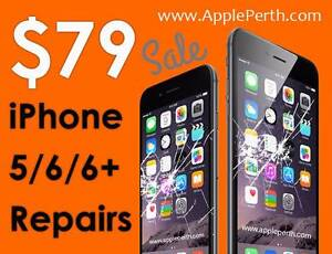 iPhone Repair Perth 5 6 6+ 6s Screen ,Battery ,Water Damaged &... Perth Perth City Area Preview