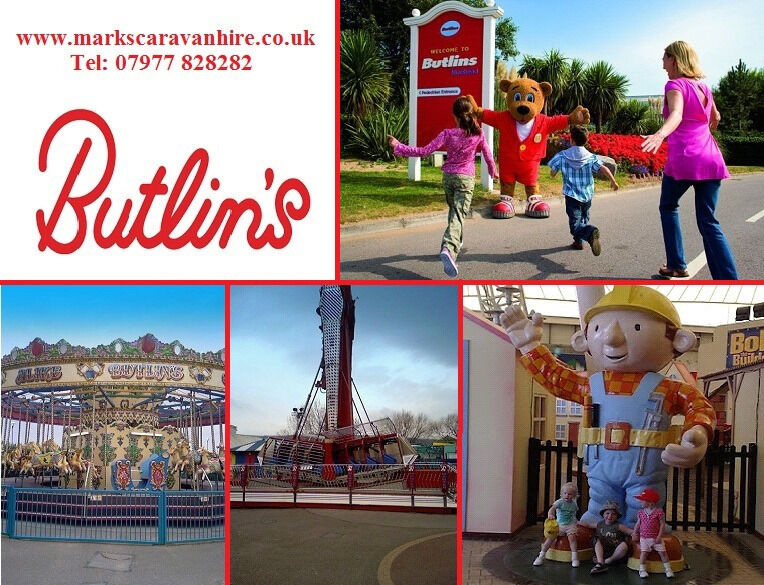 Creative UK Private Static Caravan Holiday Hire At Butlins Minehead Somerset