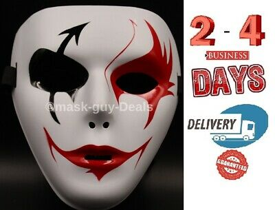 Mask Adult Mens Guy Fawkes Anonymous USA Occupy Halloween Ghost dance New look - Occupy Masks