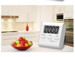 Kitchen Cooking Timer Large LCD Digital Count-Down Up Clock Loud Alarm Magnetic