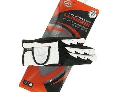 New Go Web Junior Golf Glove. Medium. Left Hand Glove For A Right Handed Golfer