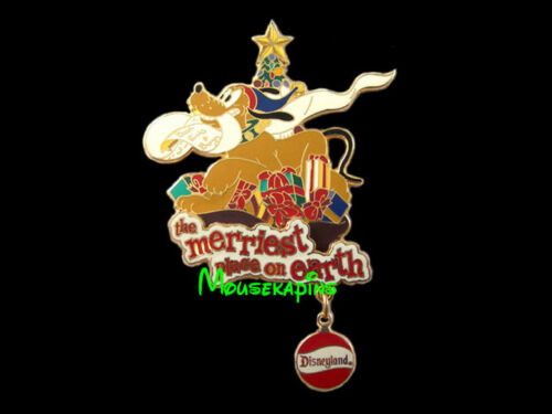 PLUTO Merriest Place on Earth CHRISTMAS Disney 2001 Pin