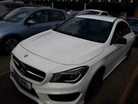 2015 Mercedes-Benz CLA 2.1 CLA200 CDI AMG SPORT 4d 136 BHP Coupe Diesel Semi Aut