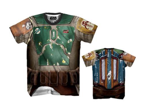 Mad Engine Star Wars Adult Sublimated Boba Fett Costume T-Shirt
