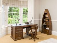 Desk and chair antique style
