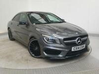 2014 14 MERCEDES-BENZ CLA 2.0 CLA45 AMG 4MATIC 4DR AUTOMATIC 360 BHP