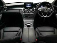 2017 17 MERCEDES-BENZ C-CLASS 1.6 C200 D AMG LINE 4D AUTO 136 BHP DIESEL