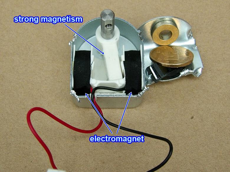 1pcs DC24V Micro Rotary Self-locking Solenoid Rotating Electromagnet Solenoid
