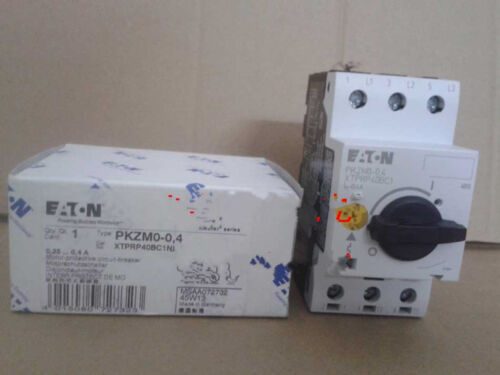 1PCS NEW MOELLER motor circuit breaker PKZMO-0.4