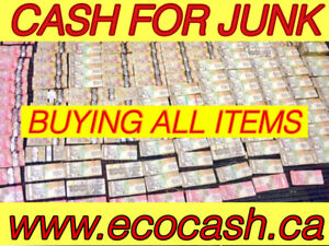 Cash for items (buyers,sellers,agents )
