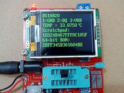 Assembed Gm328 Transistor Tester Diode Lcr Esr Meter Pwm Square Wave Generator